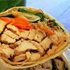Chicken Teriyaki Wrap